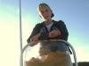 Alex in Coach Boat