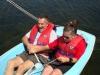 Volunteers sailing