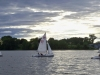 Typical evening sail on the Bay