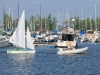 Liberty leaving dock