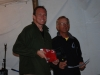 Steve 3rd place award gold fleet 2012 Mobility Cup