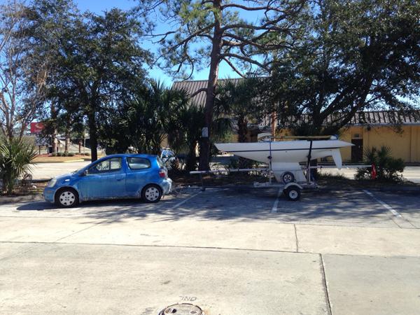 Steve enroute to Florida